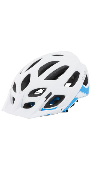 Cube Pro Helm white'n'blue